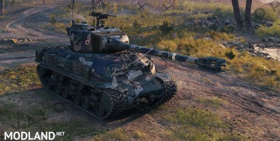 Avalon's M-51 Super Sherman 1.5.0.0-0 [1.5], 3 photo